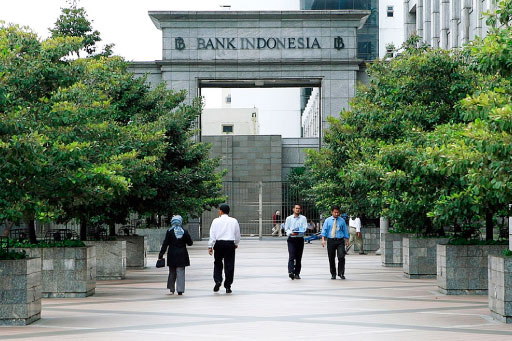 Komplek Gedung Bank Indonesia di Jakarta