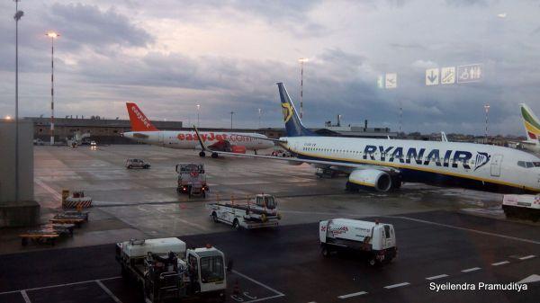 Transit 3 jam di Rome Airport