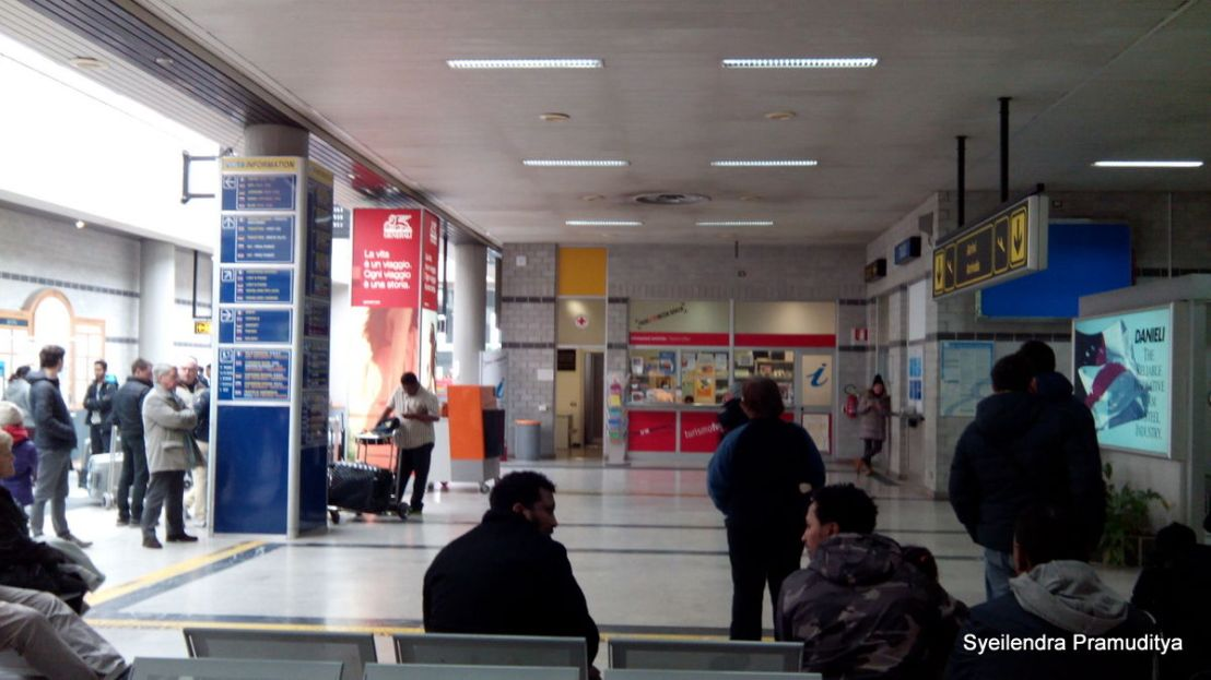 Information Counter di Trieste Airport