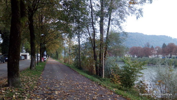 Menyusuri Sungai Salzach