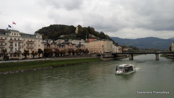 Suasana Sungai Salzach