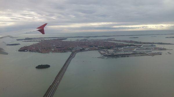 Venice dilihat dari udara